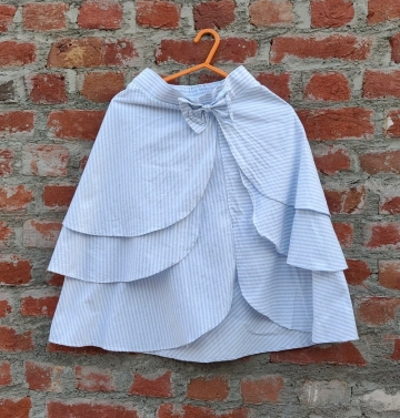 Dora blue short skirt