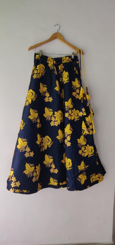 Dora Banarasi Dark Blue skirt